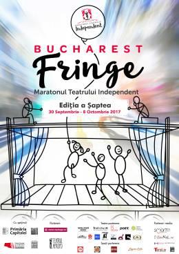 Afis Maratonul Teatrului Independent 2017