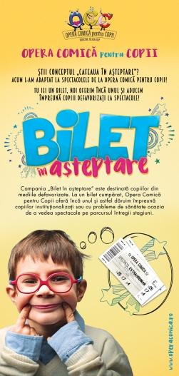Flyer Bilet in asteptare-In Spatele Cortinei_Fata